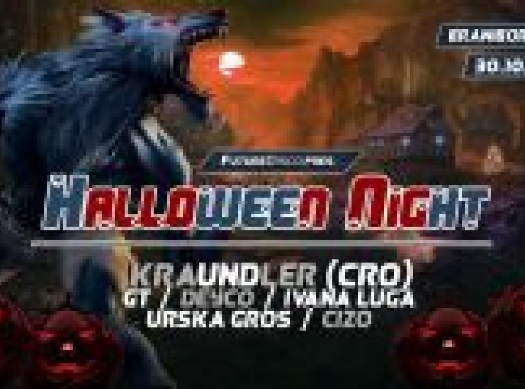 FutureDisco pres. Halloween Night w. Kraundler (CRO)