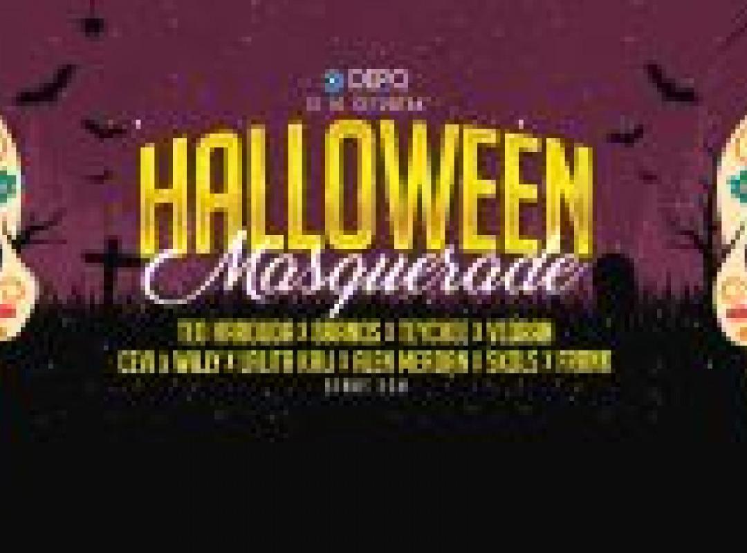 Halloween Masquerade At DEPOklub