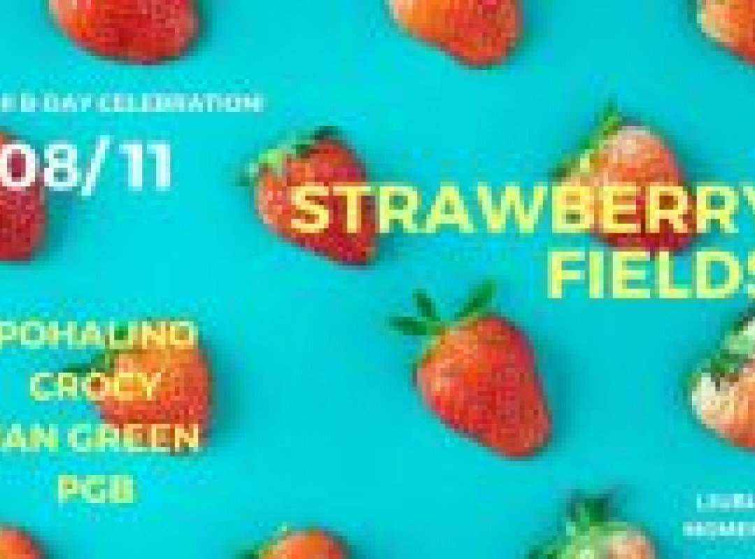 Strawberry Fields (Pohi Birthday bash )