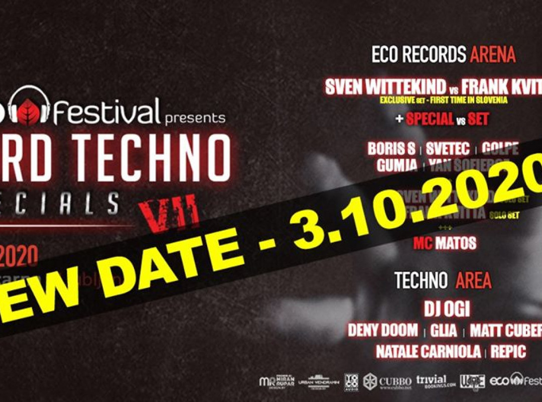 ECO festival - Hard Techno Specials VII