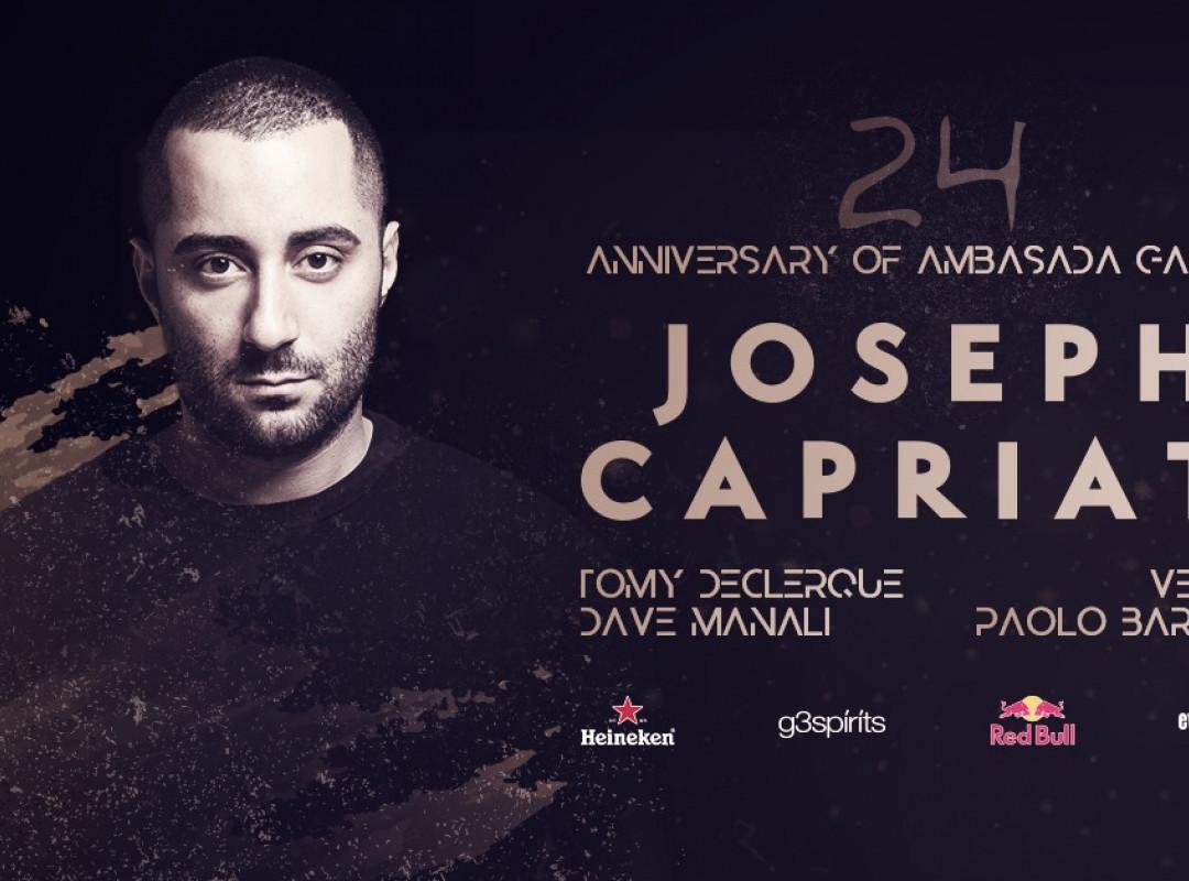 24 Anniversary of Ambasada Gavioli with Joseph Capriati