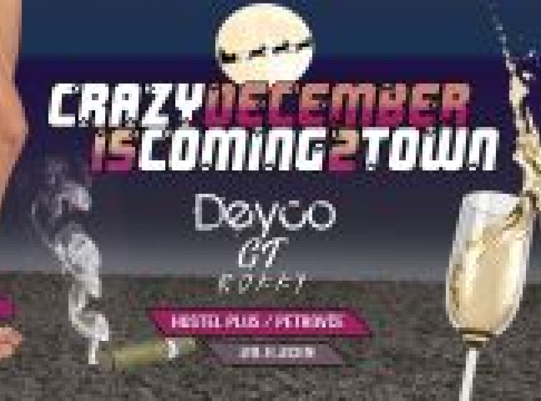 Crazy December is coming to town