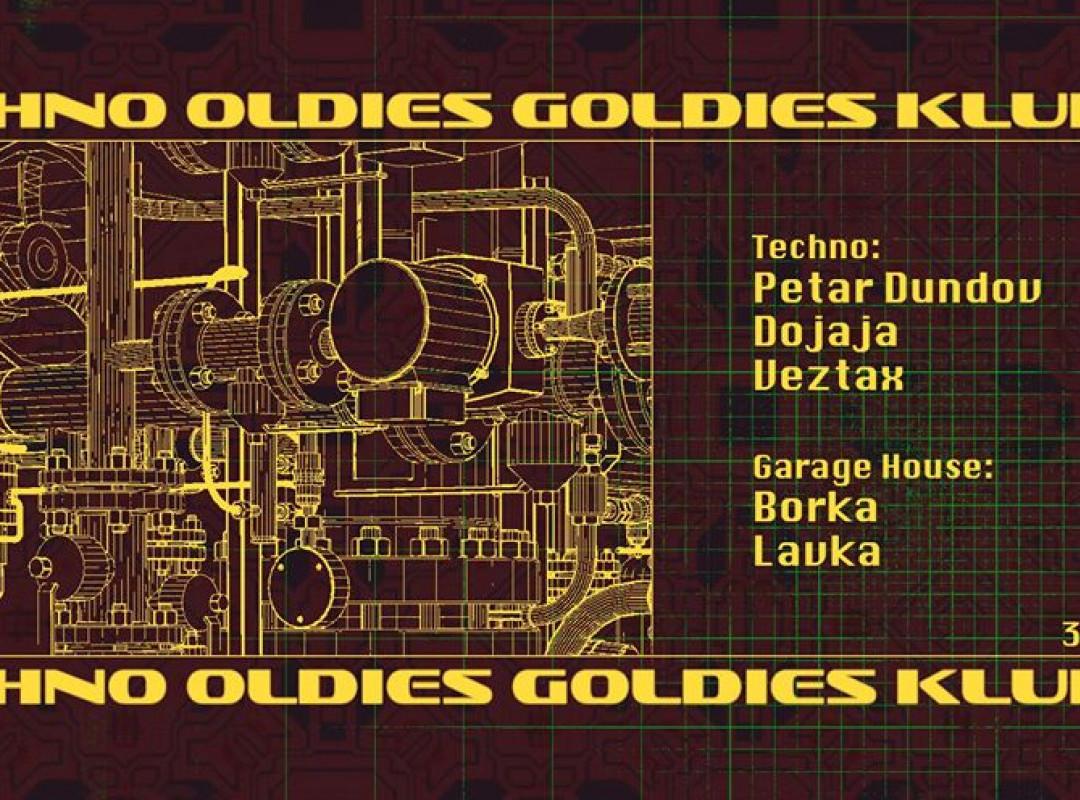 Techno Oldies Goldies w/ Petar Dundov (CRO)
