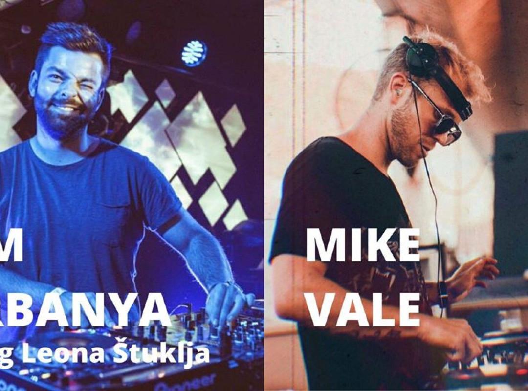 Tim Urbanya & Mike Vale @Trg Leona Štuklja