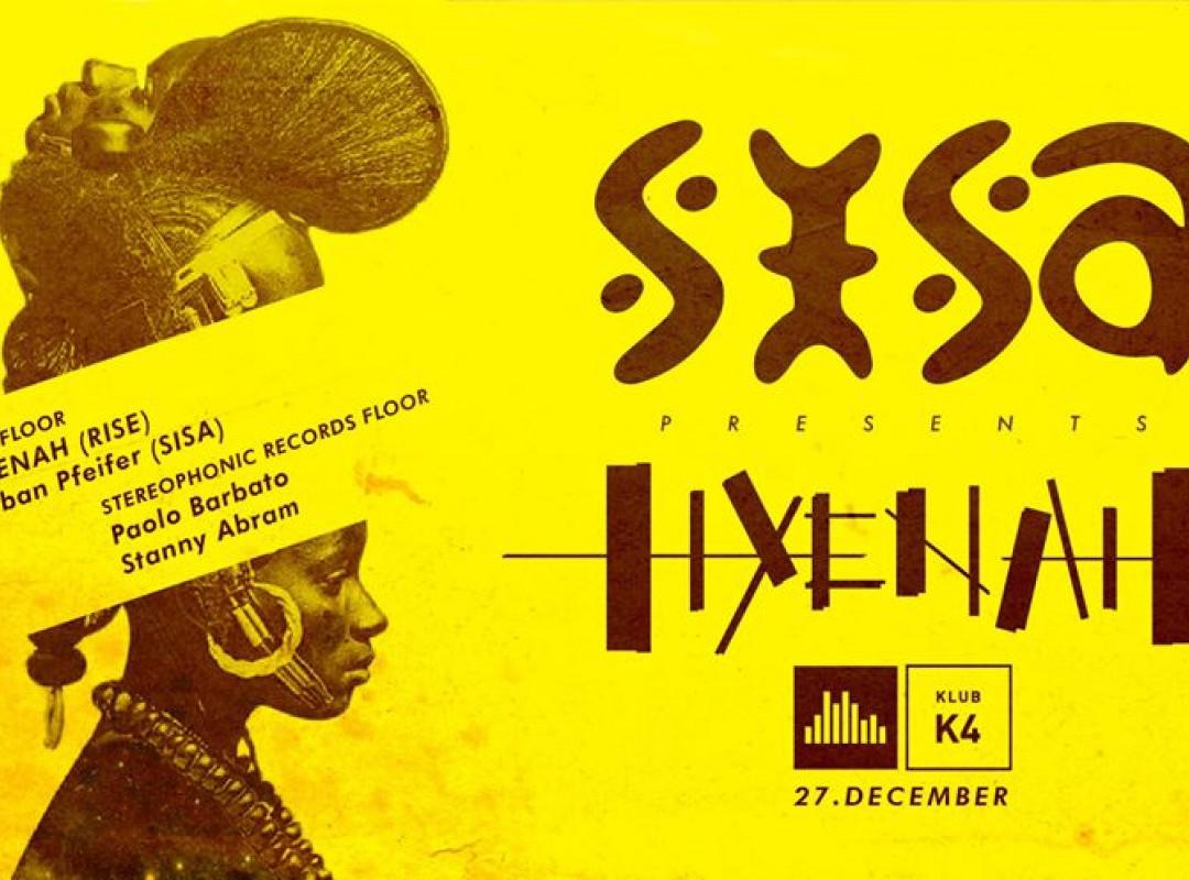 Sisa w/ Hyenah (RISE) & Paolo Barbato