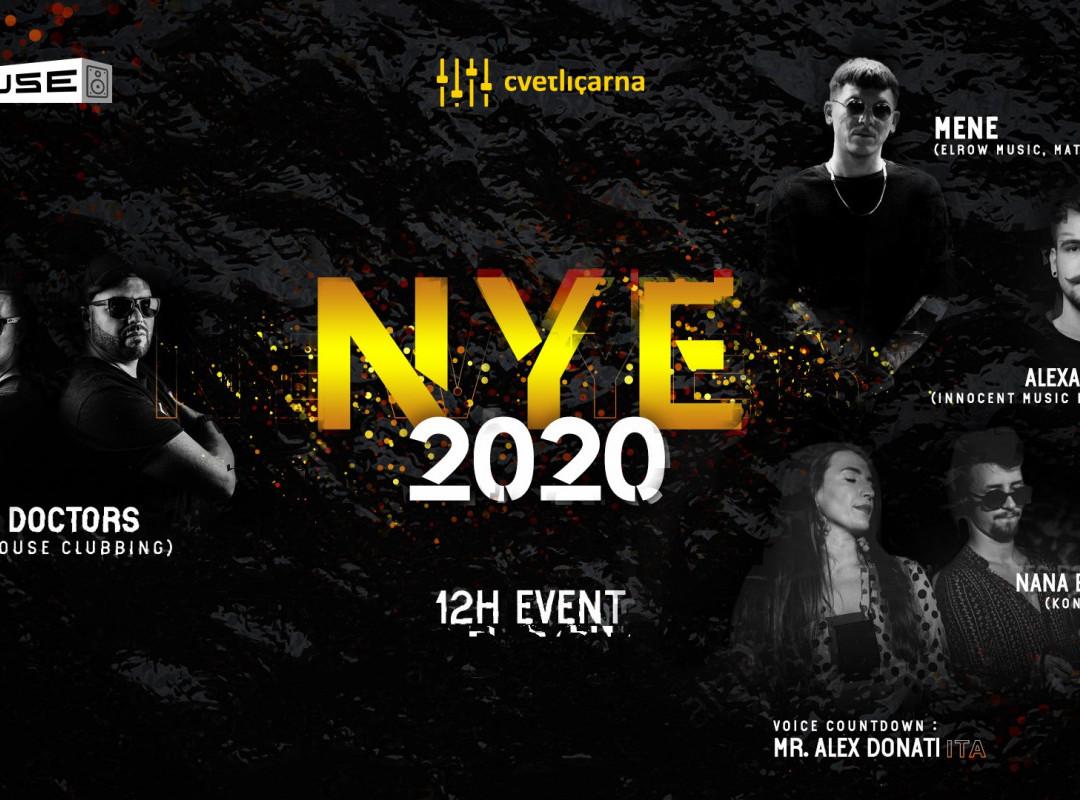 NYE 2020   (12 Hours of Fresh House Music)
