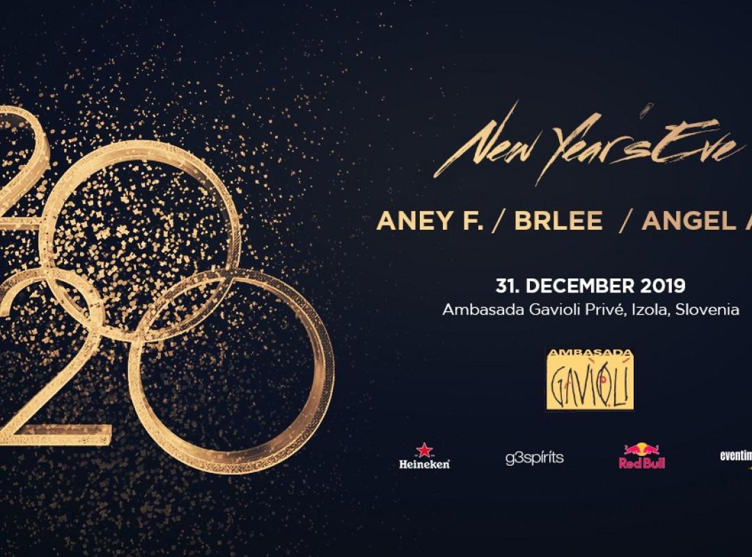 New Year's Eve 2020 at Ambasada Gavioli