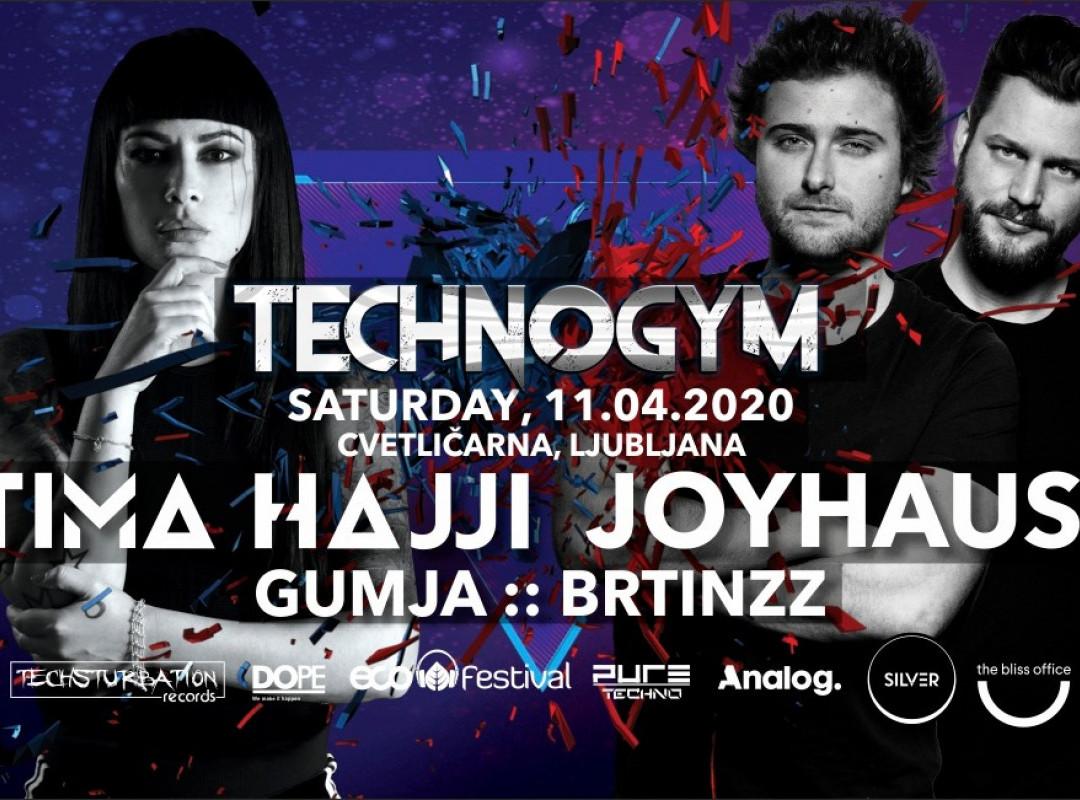 Technogym with Fatima Hajji & Joyhauser *ODPADE*