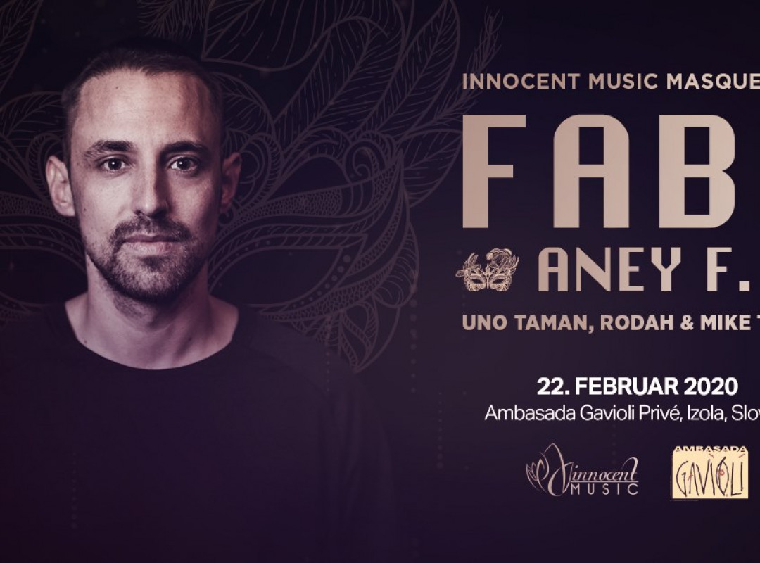 Innocent Music Masquerade with Fabe (Cocoon, Germany)