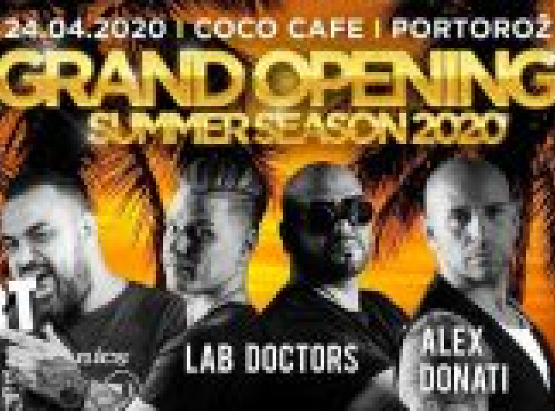 Coco Cafe Grand opening Summer Season 2020 part 1