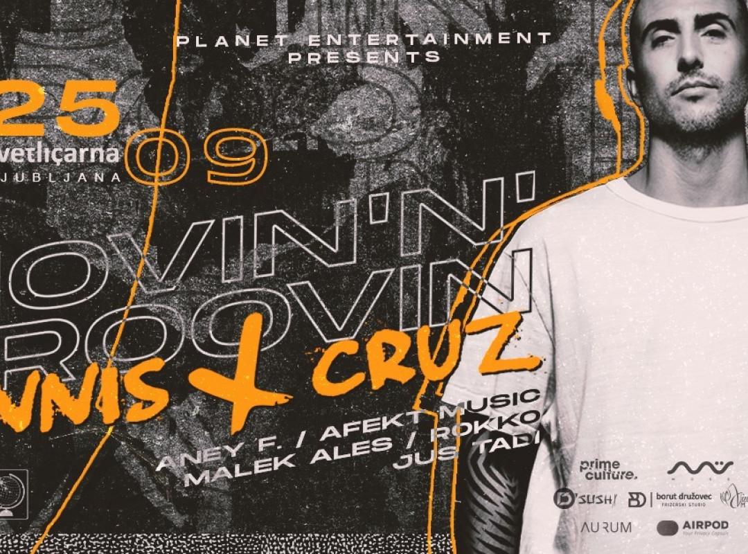 Movin'N'Groovin W/ Dennis Cruz
