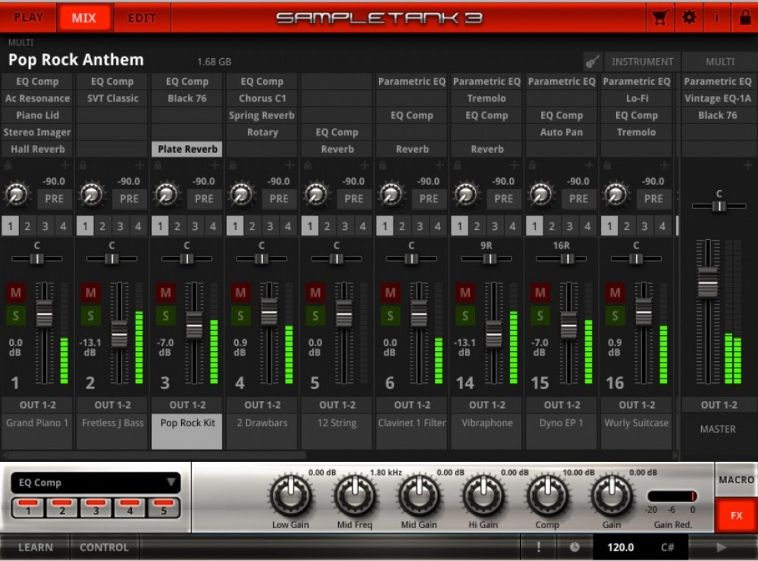 SampleTank 3 now shipping from IK Multimedia: the ultimate Mac/PC sound and groove workstation