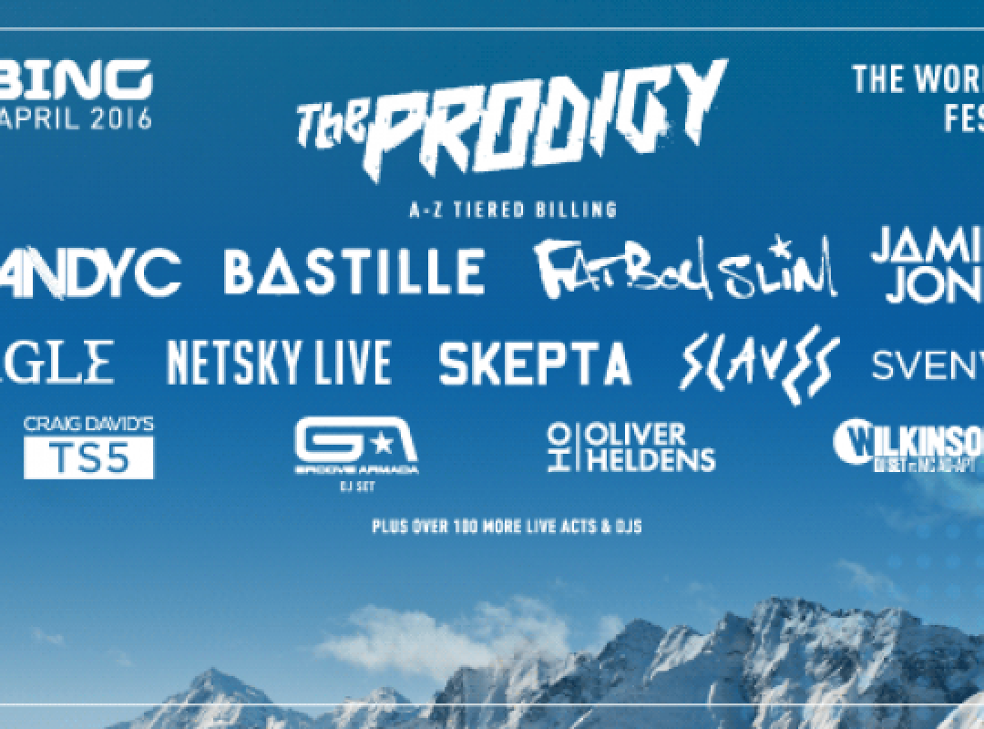 SNOWBOMBING ADDS ANOTHER AVALANCHE OF ACTS FOR 2016