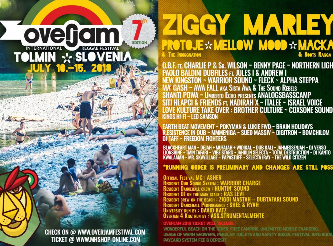 Ziggy Marley prvič v Sloveniji!