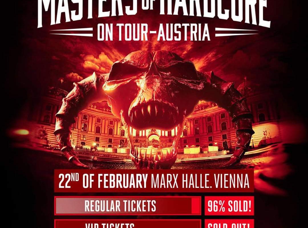 Masters of Hardcore ta vikend na Dunaju
